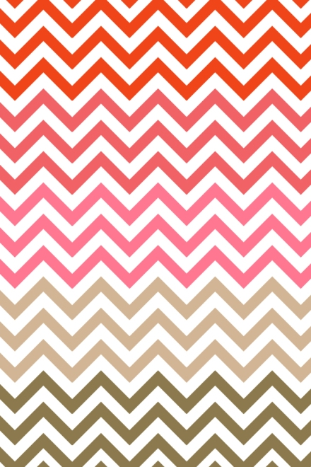 Free iPhone wallpaper Chevron Pink