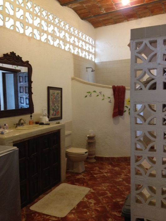 Mexican bathroom